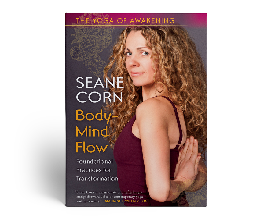 "cover image of seane corn's ""body mind flow"" audio design"